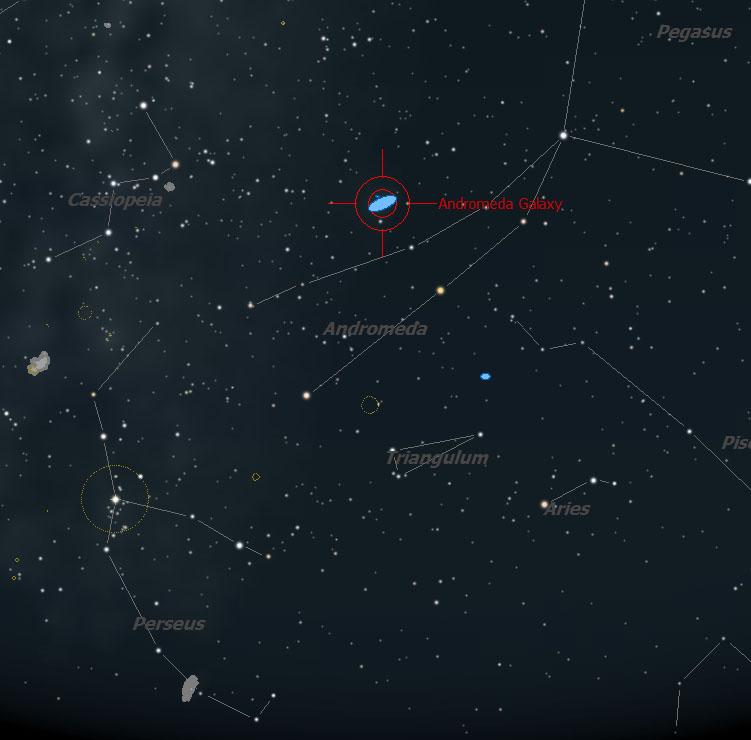 Observing at Skyhound: The Andromeda Galaxy (M31)